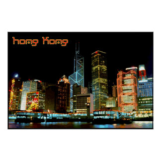 Voyage Hong Kong Affiches