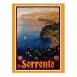 Voyage italien de Sorrente des années 1920 Cartes Postales