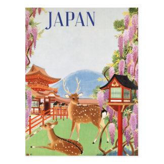 Voyage Japon par le cru de train Carte Postale
