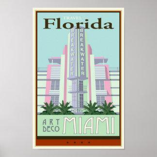 Voyage la Floride Poster