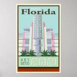 Voyage la Floride Posters