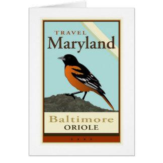 Voyage le Maryland Carte De Vœux