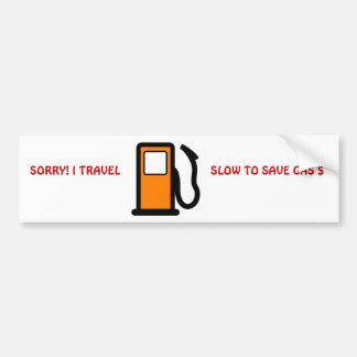 Voyage lent pour sauver l'adhésif pour pare-chocs  adhésifs pour voiture