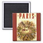 Voyage vintage, Arc de Triomphe Paris France