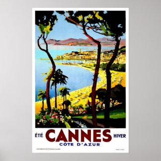 Voyage vintage, Cannes Posters