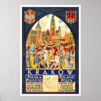 Voyage vintage, Cracovie Posters