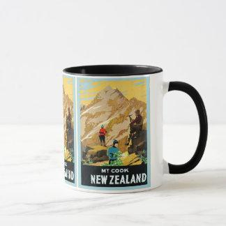 Voyage vintage de ~ de cuisinier de bâti de ~ de mug