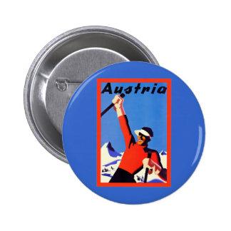 Voyage vintage de ~ de l'Autriche Pin's
