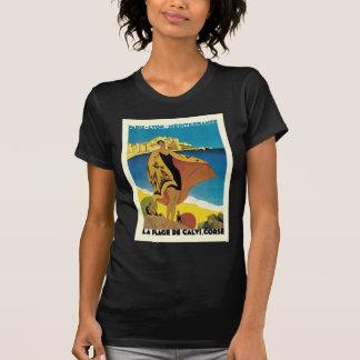 Voyage vintage de Français T-shirt