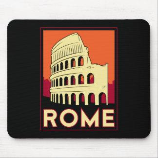 voyage vintage de l Europe de Colisé de Rome Itali Tapis De Souris