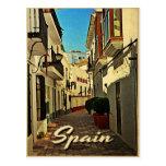 Voyage vintage de l'Espagne Cartes Postales
