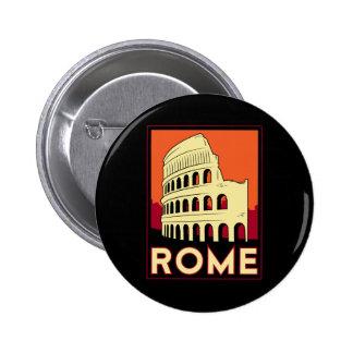 voyage vintage de l'Europe de Colisé de Rome Itali Badge