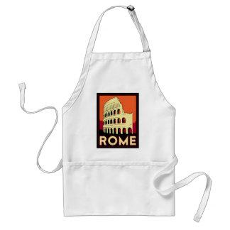 voyage vintage de l'Europe de Colisé de Rome Itali Tabliers