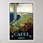 Voyage vintage de Montecatini Toscane Italie Posters