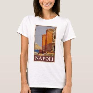 Voyage vintage de Napoli Italie Naples Italie T-shirt