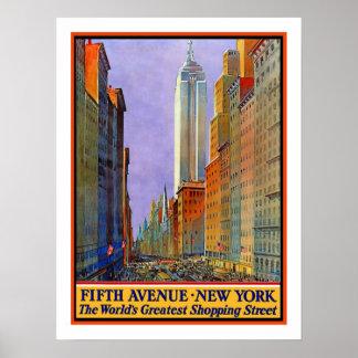 Voyage vintage de New York Posters