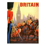 Voyage vintage, Grande-Bretagne Angleterre, garde  Carte Postale