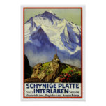 Voyage vintage, Interlaken Posters