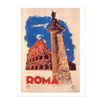 Voyage vintage Italie, Rome - Carte Postale