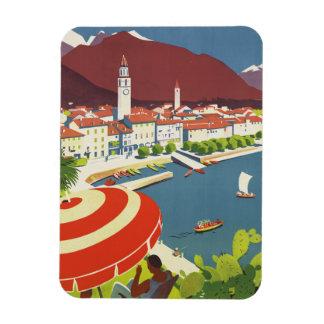 Voyage vintage Suisse Magnets Souples