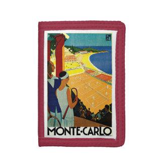Voyage vintage, tennis, sports, Monte Carlo Monaco