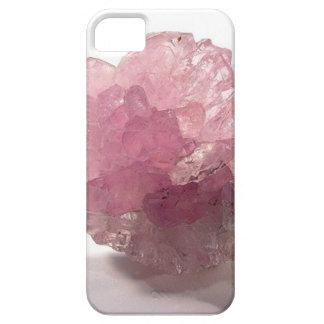 Voyageurs de bonheur de quartz rose étui iPhone 5
