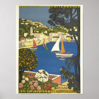 Voyez la Côte d'Azur Poster