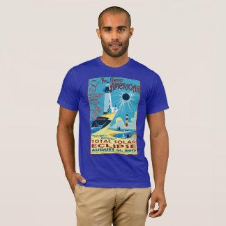 Voyez le grand T-shirt américain d'éclipse
