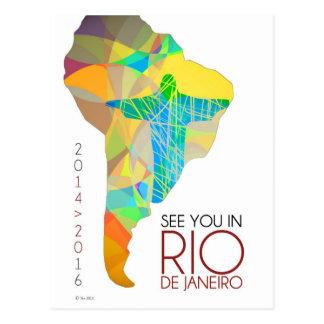 Voyez-vous dans le Rio de Janeiro - carte postale