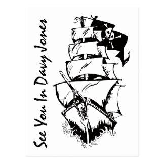 Voyez-vous en Davy Jones Carte Postale