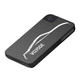 """""""VQ35DE"""" 350z avec la fibre de carbone de Faux Coques Case-Mate iPhone 4"""