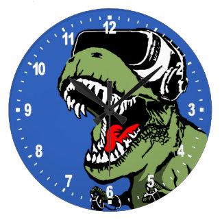 VR T-rex Grande Horloge Ronde