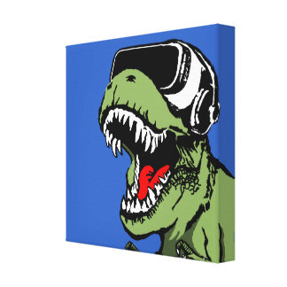 VR T-rex Toile