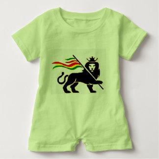 Vrai bébé de lion de Rasta Barboteuse