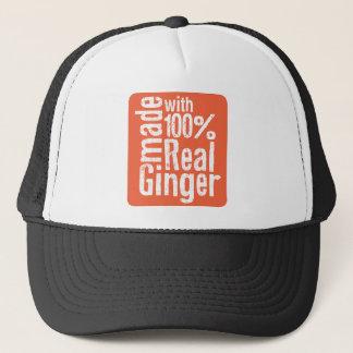 Vrai gingembre de 100% casquette