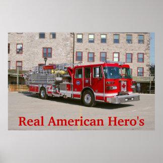 Vrai héros américain posters