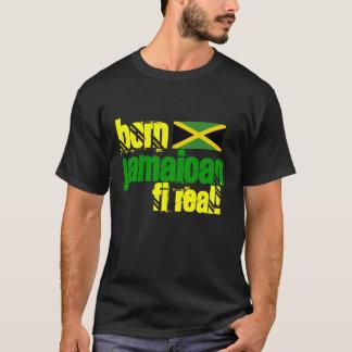 Vrai Jamaïque T-shirt jamaïcain né de fi
