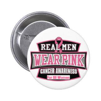 Vrai rose de vêtements pour hommes pour toutes les badge rond 5 cm