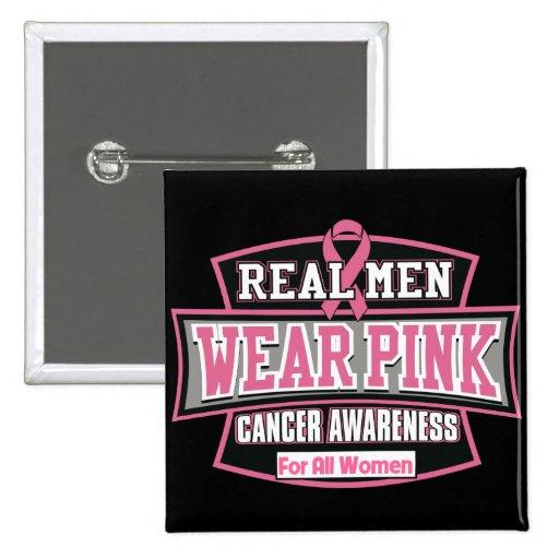 Vrai rose de vêtements pour hommes pour toutes les badges avec agrafe