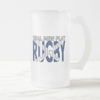 Vrai rugby Ecosse de jeu d'hommes Chope Givrée