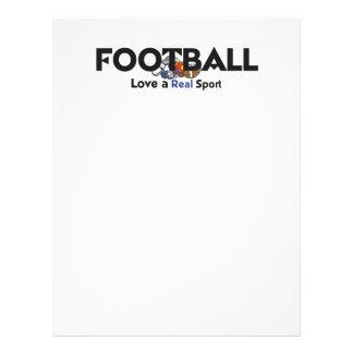 Vrai sport du football SUPÉRIEUR Prospectus 21,6 Cm X 24,94 Cm