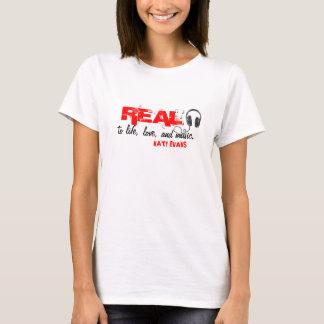 VRAI T-shirt (d'écouteur)