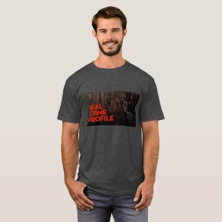 Vrai tee - shirt de profil de crime t-shirt