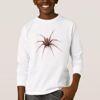 Vraie araignée de Chambre de Brown T-shirt