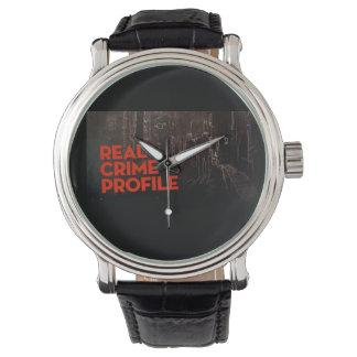 Vraie montre de profil de crime montres bracelet