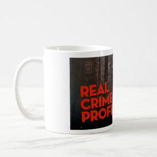 Vraie tasse de profil de crime