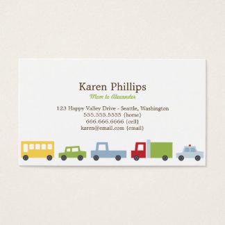 Vroom Vroom cartes de maman de voitures