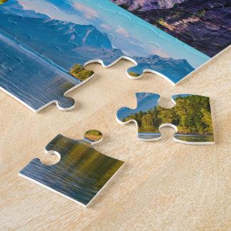 vue 12 de glacier puzzle