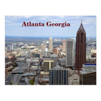 Vue aérienne d'Atlanta, la Géorgie Carte Postale