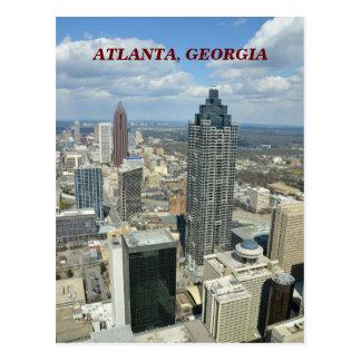 Vue aérienne d'Atlanta, la Géorgie Cartes Postales